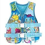 Yeah-hhi Kinder Schwimmende Weste Rettungsweste für Kinder Training Floating Badeanzug-Auftrieb...