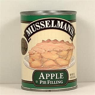 Musselman's Apple Pie Filling 21 oz (Pack of 12)