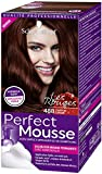 Schwarzkopf Perfect Mousse – Coloración de espuma permanente sin amoniaco – Chatain Cerise 488
