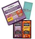 De Villiers Dark Chocolate Bar Combination Pack | Registered with the Vegan Society | Rainforest Alliance Certified | Assortment of 6 70% Cocoa Bars | 2.82 oz each | Variants: Coconut, Almond, Coffee, Orange Peel, Cocoa Nib, Vanilla