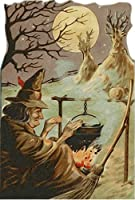 魔女500ピース木製ジグソーパズル家族向けゲームプレイコレクションに最適