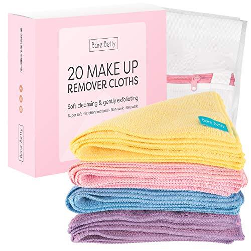20 x toallitas desmaquillantes microfibra lavables