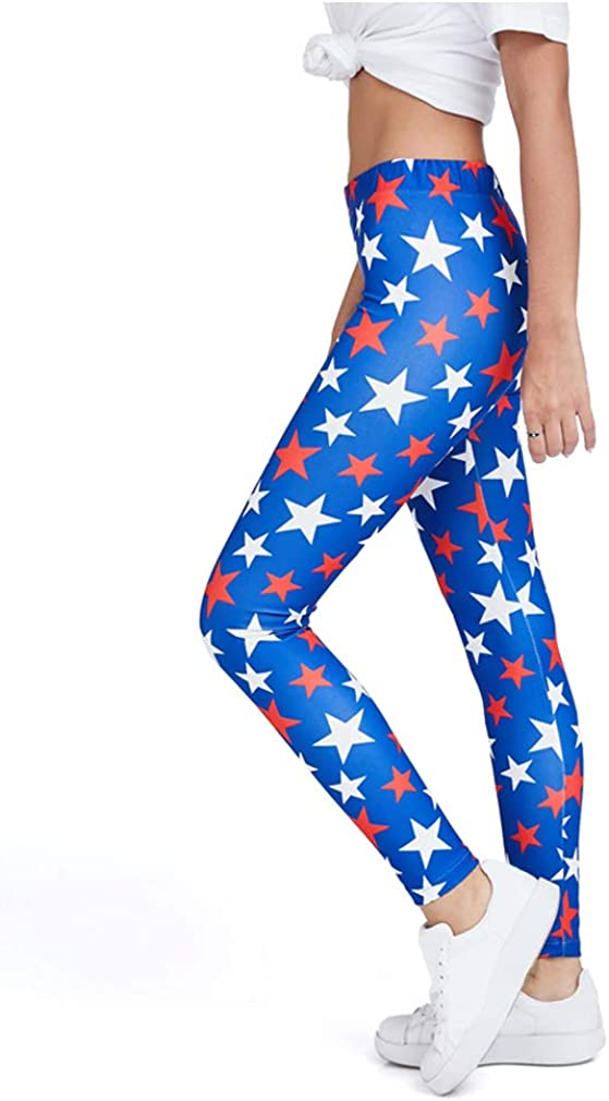 Tstars 4th of July Leggings Bombing new work for Patriotic - Clearance SALE Limited time Flag Women American