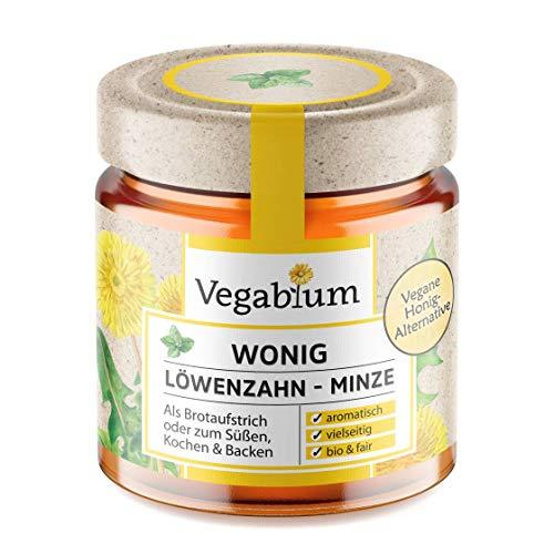 Vegablum Wonig Löwenzahn-Minze bio - Die vegane Alternative zu Honig, 225 g