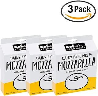 Non Dairy Mozzarella Cheese Mix – All Natural, Paleo, Vegan, Gluten Free Cheese Making Kit w/Nutritional Yeast, Tapioca Flour, Agar Powder & Spices for Artisan Cheesemaking – 1.45 oz