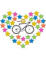 Cykel ekrar pärlor - plast cykel ekrar 36 st, färgglada spokey dokeys barn cykeltillbehör ekerklämmor, ekrar för cyklar för flickor och pojkar barn cykelekrar tillbehör hjuldekorationer