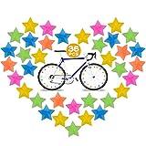 36 Pezzi Clip per Raggi per Bici – Accessori per Bicicletta per Bambini di Plastica, Colorati Raggi Della Bicicletta, Accessori per Raggi Della Biciclette Decorazioni Ruote per Ragazze e Ragazzi