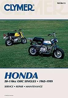 Clymer Honda 50-110cc OHC Singles, 1965-1999: Service, Repair, Maintenance (Clymer Motorcycle)