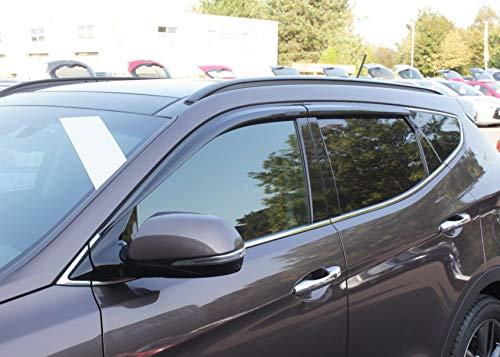 Autoclover Windabweiser-Set, 4-teilig, für Hyundai Santa Fe 2013-2018 (4 Stück)