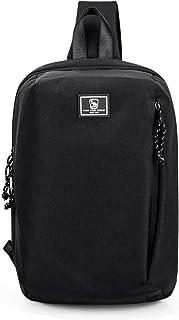 OIWAS One Strap Backpack Men 14 Inch Single Strap Backpack Women Large Sling Bag Crossbody Shoulder Daypack for Boy Girl