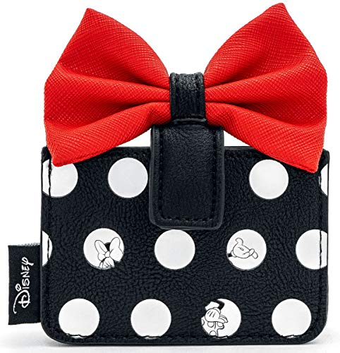 Mickey Mouse Wdwa1191, Carteras y billeteras para Mujer, Negro, One Size