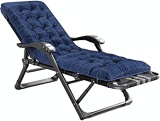 LLLD Oversized Zero Gravity Chair XL Patio Recliners Padded Folding Chair with Cotton Pad Extra Wide Chaise Lounge for Poo...