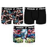 FREEGUN Lot de 3 Boxers Modèle América (14/16)