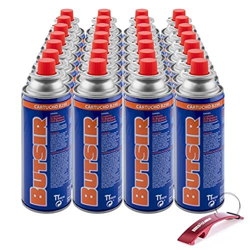Cartucho de Gas B250 - Isobutano 227g + Llavero Bricolemar de Obsequio (28 Cartuchos + Llavero Bricolemar)