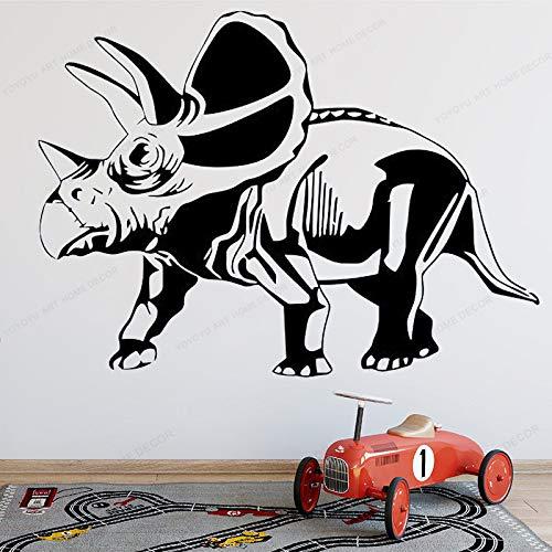 wen-shhen Dinosaurio Tyrannosaurus Etiqueta de la Pared para niños Vinilo Pared Dinosaurio Dinosaurio niño niño Dormitorio decoración de la Pared Arte Mural