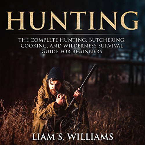 Hunting audiobook cover art