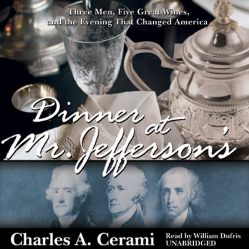 Dinner at Mr. Jefferson's audiobook cover art