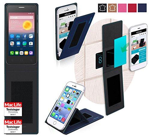 Hülle für Alcatel OneTouch Pixi First Tasche Cover Hülle Bumper   Blau   Testsieger