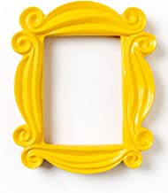Buzzcart Friends Peephole Frame from Monica's Apartment,TV Show Merchandise, Best Gifts (Yellow)