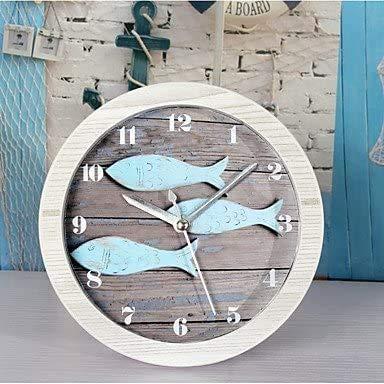 SSFG 3D Modern/Contemporary Houses Wall ClockNovelty Acrylic Metal Wood Indoor Clock