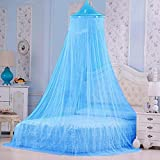 Best Round Bed - Wrolavi Round Mosquito Net for Single/Double Bed, Poly Review