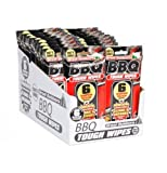 Extra Tough BBQ Wipes Heavy Duty Disposable Barbecue Grill Cleaner Scrubbers - Pack of 6