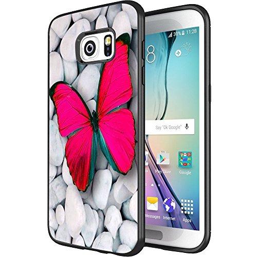 DOO UC - Carcasa para Samsung Galaxy S7 Edge, tecnología láser, Color Negro