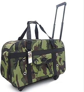 JIANGIJIA تستحق وجود - حقيبة عربة الحيوانات الأليفة متعددة الأوجه تنفس حقيبة يد ، حقيبة سفر محمولة القط الكلب حقيبة الأمتع...