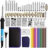 71Pcs Wood Burning Kit, Number-one Woodburning Tools with Soldering Iron Rapid Heating Adjustable