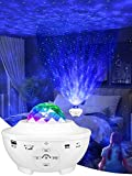 Star Projector & Night Light Projector, Galaxy Projector for Bedroom,Kids, with 10 Lighting Modes, Bluetooth Speaker, Remote Control,Sound-Activated and Auto-Off Timer, Great Festival Decor