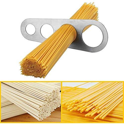 Wdbelm Dosatore Spaghetti Misuratore di Spaghetti in Acciaio Inossidabile Misura della Pasta Cuocere Gli Utensili per Utensili da Cucina per Misurare La Pasta ECC Adatto per La Cucina di Casa
