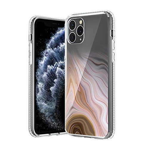 TILON Stylish iPhone Case Designed for Apple iPhone 11 Pro(2019) 5.8 Inch Anti-Scratch All Around Shock Absorption Protection Bumper Cover-Champagne-Tint...