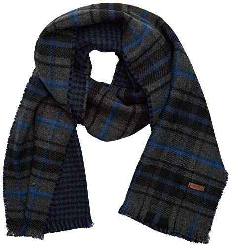 Barts Herren VALENCE SCARF Winter-Schal, Dark Heather, onesize