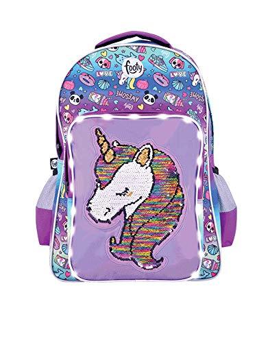 Mochilas Escolares Niña 5 Años Unicornio Marca Footy