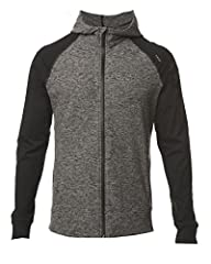 VERSATILE & CLEAN: Raglan sleeve lends style to this hoodie that features soft hybrid yarn, taped zipper, invisible zip pockets, and a tailored refined cut. Sharp with jeans for a casual crisp look. BY ATHLETES, FOR ATHLETES: Optimal marriage of comf...