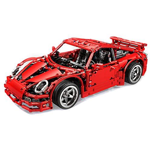WYY Technic 997 GT3 Super Coche De Competición Modelo Bloques De Construcción, Ladrillos De Construcción (Moc 1841 PCS), Asamblea De Construcción del Juego para El Bricolaje