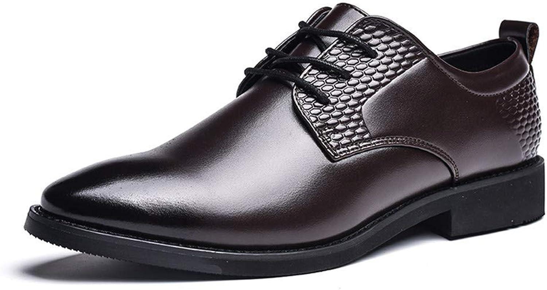 HhGold 2018 Men's New Low Low Low Top atmungsaktive Abteilung mit Round Toe Business Oxford Casual Formale Schuhe (Farbe   Schwarz, Größe   39 EU) (Farbe   Braun, Größe   43 EU)  7c971a