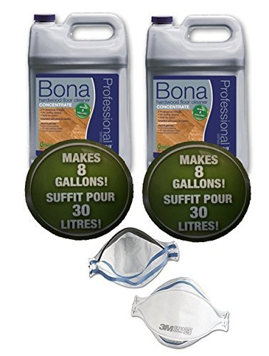 Bona Professional Hardwood Cleaner Concentrate - 128 fl oz each [Pack of 2]