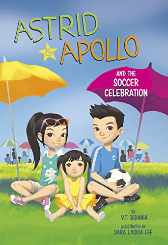 Astrid and Apollo and the Soccer Celebration