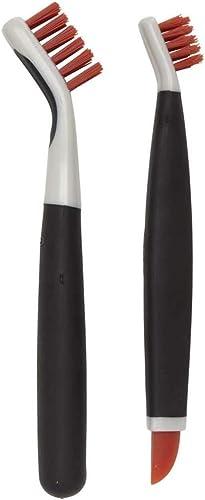 OXO Good Grips Deep Clean Brush Set, A, Orange, 1285700