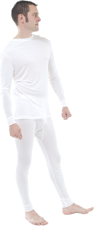 Silk Thermal Long John and top Set