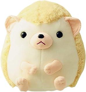 新作店舗 ぬいぐるみハリネズミ抱き枕動物おもちゃクッションアニマルかわいい癒しリラックスふわふわもちもち子ども女の子萌えギフトプレゼントお祝い誕生日インテリアベージュ35CM