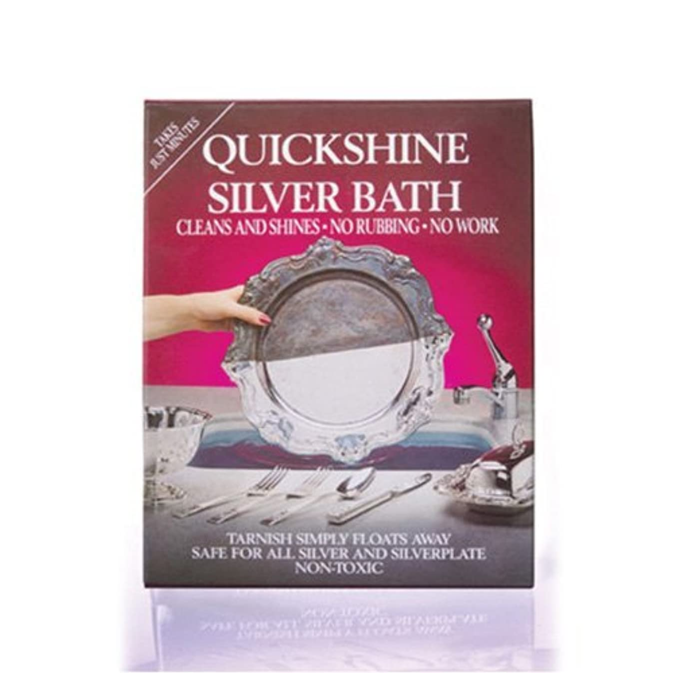 Silver Clean And Shine Bath