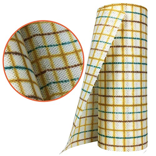 Dish Cloths for Washing Dishes - 40 Ct - Super Absorbent Cleaning Cloths - Farmhouse Kitchen Towels - Reusable Better Than Microfiber