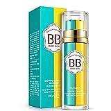 BB Cream, 2 en 1 piel blanqueadora BB crema agua,Hidrata y alisa la piel con protección, maquillaje corrector hidratante nutritiva cara desnuda camuflaje cosmética(Elfenbeinweiß Farbe # 2)