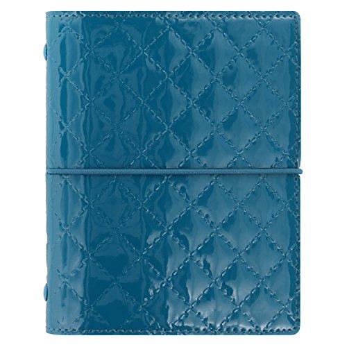 Filofax Pocket Domino Luxe - Organizador de bolsillo, color verde azulado