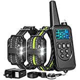FunniPets Dog Training Collar, 2600ft Range Dog Shock Collar with Remote Waterproof Electronic Dog...