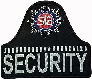 SIA licence officier Hook & Loop 'Bell en forme de badge de sécurité