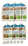 Juego de 6–Reutilizables quetschb absorber–libre de BPA & PVC–Baby pequeño, niños, incluso con gekochten comida verduras brei Alimentan–Congelador & apto para lavavajillas–NUTRICIÓN–3x 180ml + 3x 400ml