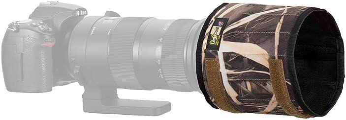 LensCoat TravelHood Replacement Lens Hood Cover Protection TravelHood Zoom thzbk Black